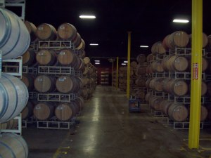 Barrel Room, only some of it!