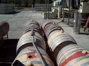 Barrels to fill, spilled a little. (Just between you and me)