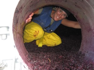 Greetings, From Inside a Wine Tank!